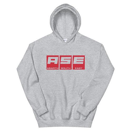 Unisex Hoodie - Red Block Logo