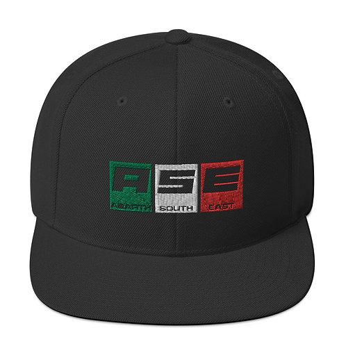 Snapback Hat - Italian Block Logo