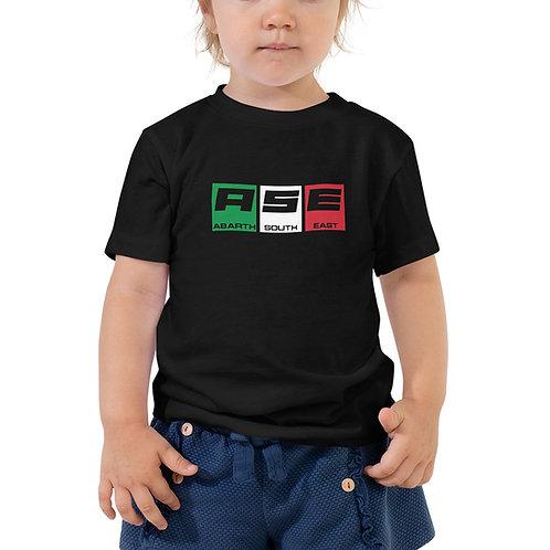 Toddler Short Sleeve Tee - Italian Block Logo