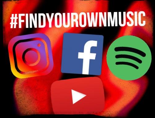 #FindYourOwnMusic