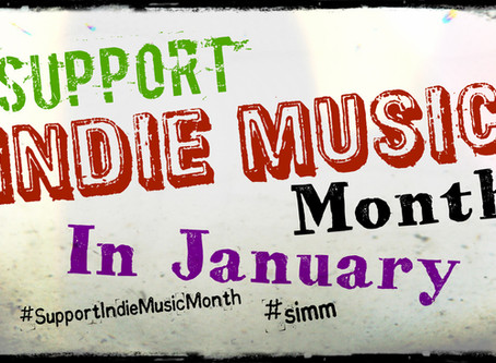 Support Indie Music Month in January