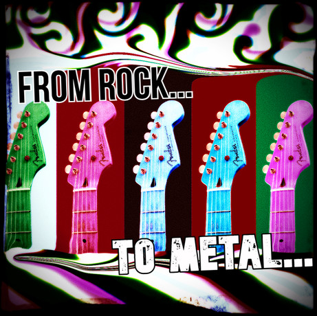From Rock To Metal