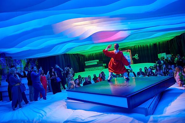 ©FARELBISOTTO hermès Dubaï Theme Event Chorégraphie Julien Gaillac