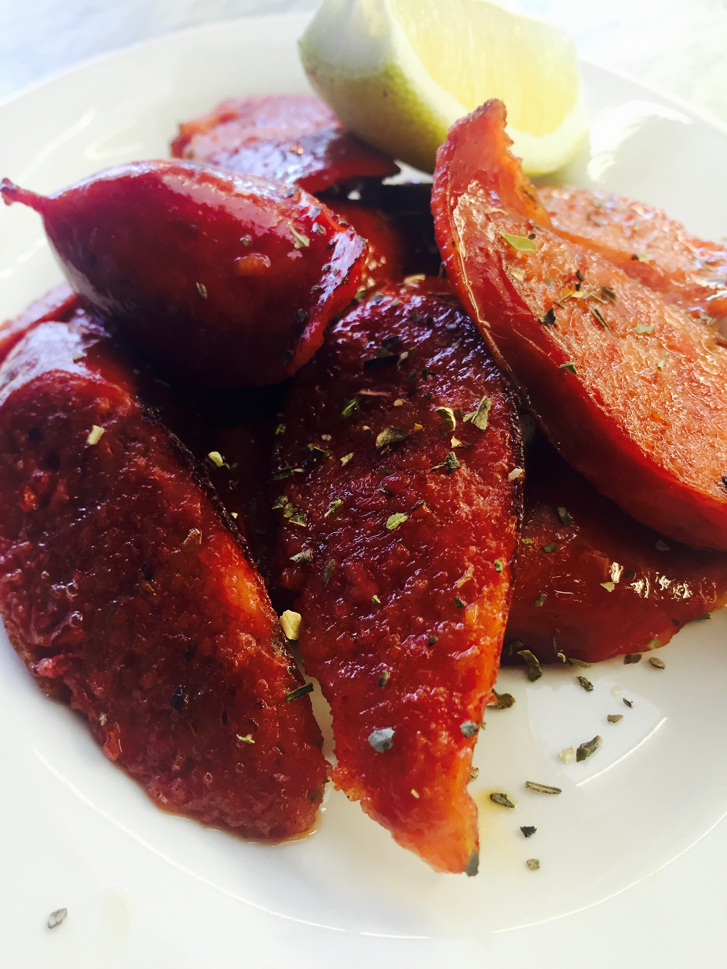 Loukaniko (spicy sausage)