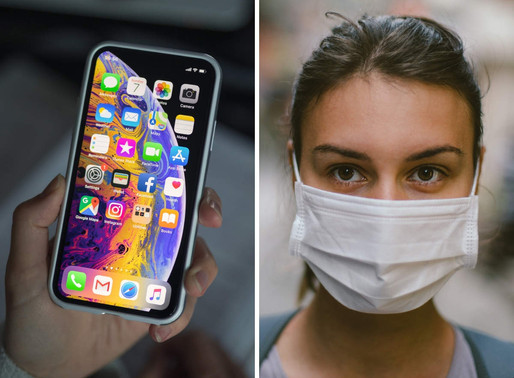Apple releases COVID specific features - unlock the phone with the mask on face