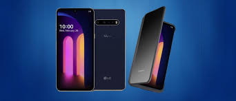 LG announces V60 ThinQ - A classy blue, 5G smartphone