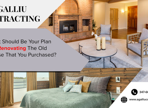 What Should Be Your Plan For Renovating The Old House That You Purchased?