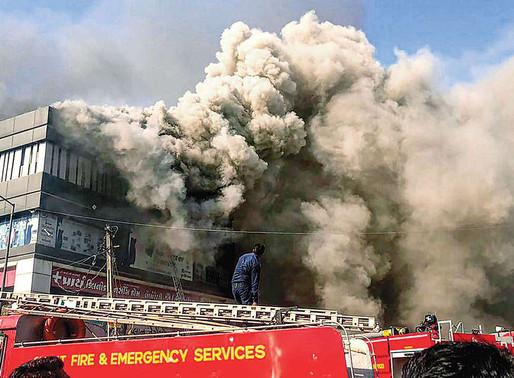 20 Killed in Massive Blaze at Coaching Center in Surat