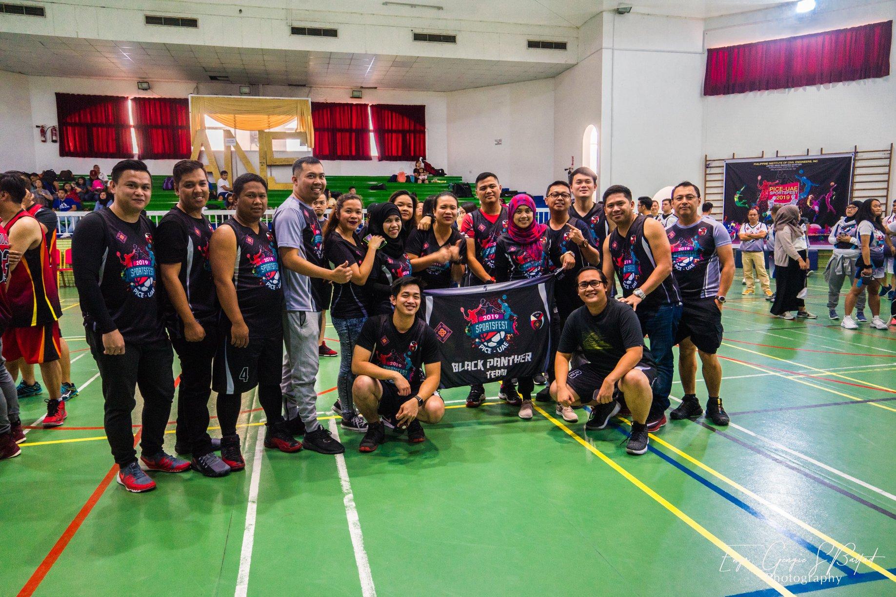 Sportsfest Black Team