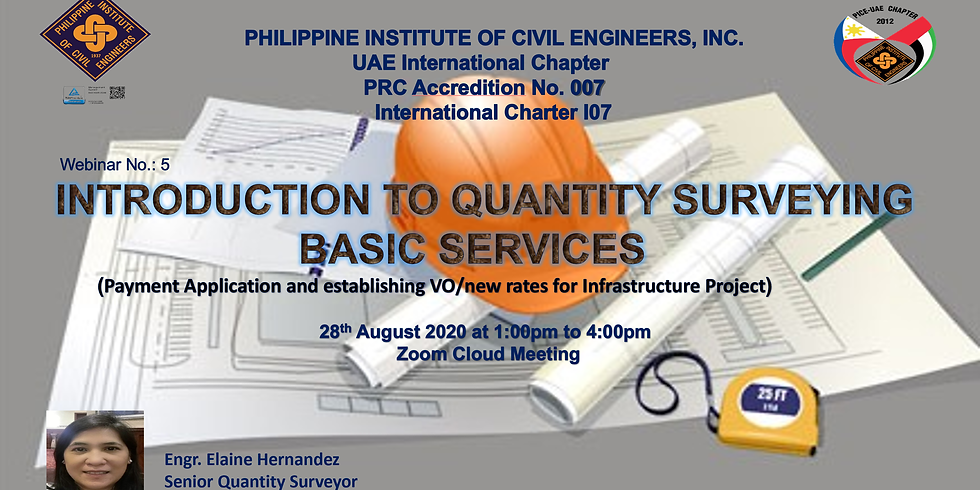 Introduction to Quantity Surveying Basic Services