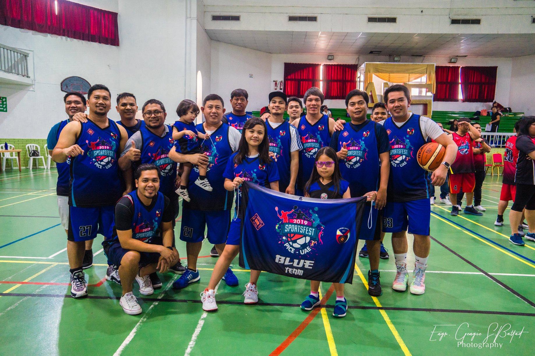 Sportsfest Blue Team