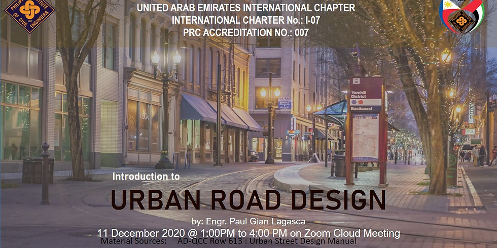 Introduction to Urban Road Design