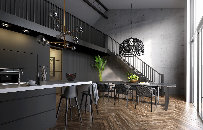 Interieur Loft - Pixtor