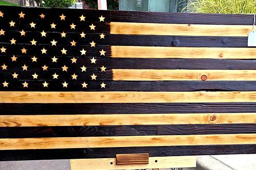 3 ft Rustic no color Flag