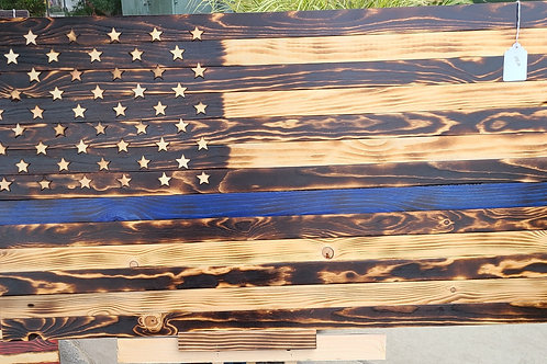 3 ft Rustic no color Flag