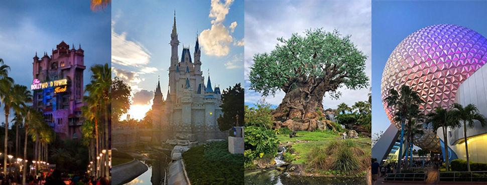 Walt Disney World 4 parks