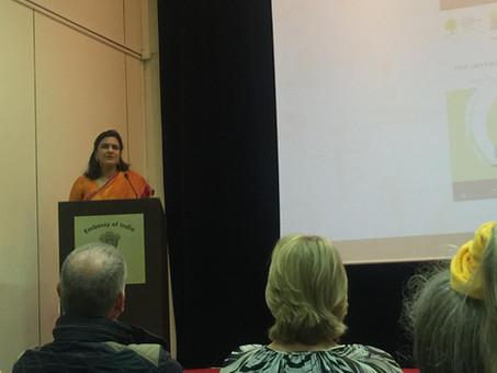 BRUSSELS YOGA DAY 2018 - Conférence de presse - Ambassade de l'Inde à Bruxelles