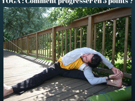 YOGA : Comment progresser en 5 points ? [article]