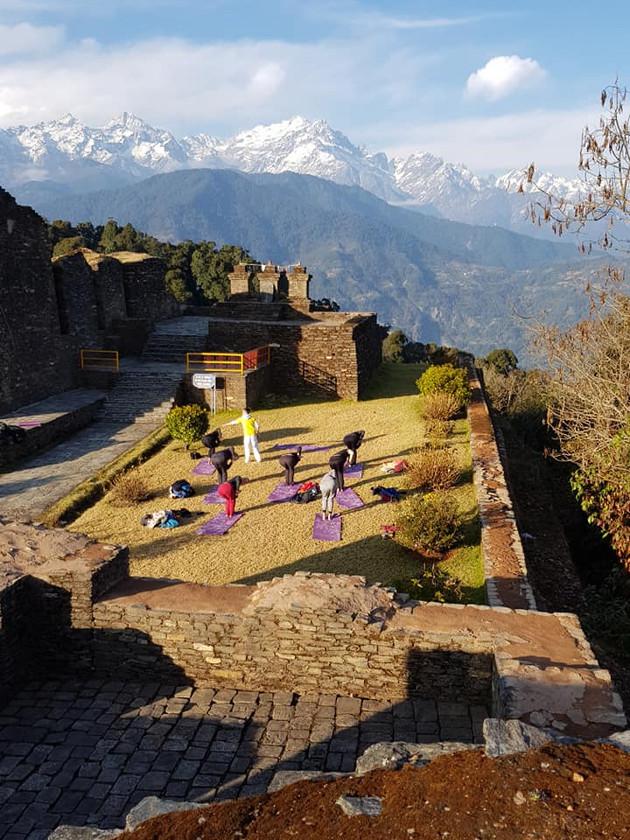 "Cours face à l'Himalaya avec Sébastien ""Ganesha"" Cierco"