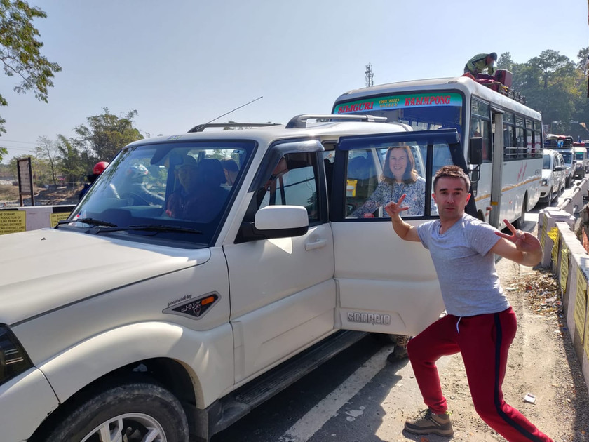 En route pour le Sikkim !