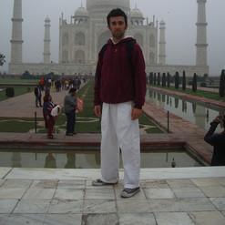"Sébastien ""Ganesha"" Cierco - Inde, Taj Mahal, 2007"