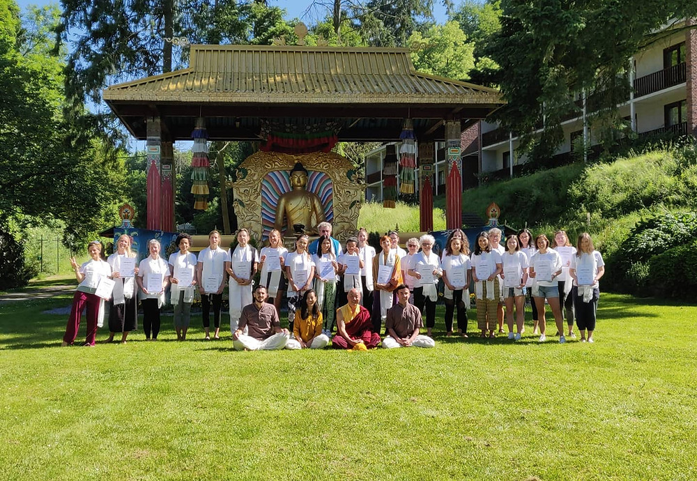 Formation professeur Yoga 200 heures Belgique