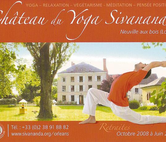 "Sébastien ""Ganesha"" Cierco, Ashram du Yoga Sivananda, Orléans"