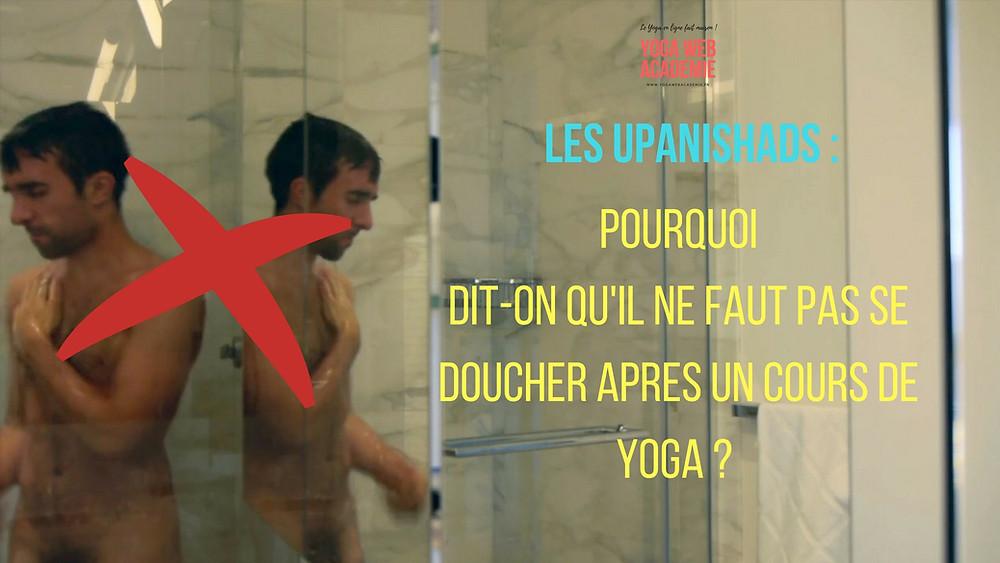 Pourquoi ne faut-il pas se doucher après une séance de Yoga ?