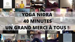 YOGA NIDRA 40 MINUTES - Replay gratuit