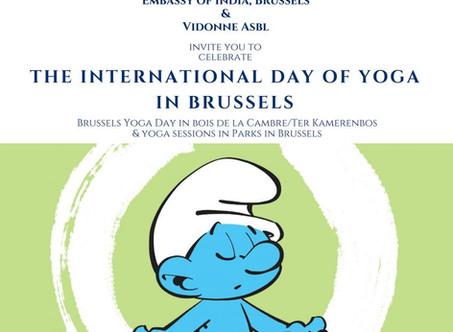 Retrouvons-nous au YOGA DAY BRUXELLES 2018 !