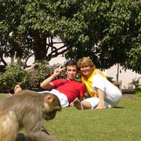 """Formation de professeurs Yoga Sivananda, Vrindavan, Inde, 2007, Sébastien """"Ganesha"""" Cierco"""