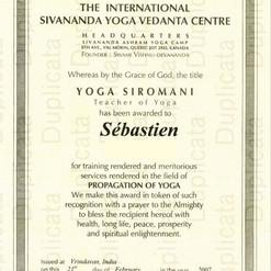 """Sébastien """"Ganesha"""" Cierco - Yoga, 20 ans d'expérience"""