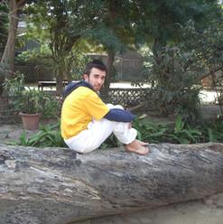 """Formation de professeurs Sivananda, Vrindavan, Inde, 2007, Sébastien """"Ganesha"""" Cierco"""
