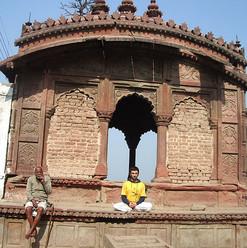 Formation de professeurs de Yoga Sivananda, Vrindavan, Inde, 2007