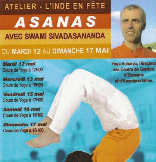 """Centre de Yoga Sivananda Paris, Sébastien """"Ganesha""""Cierco"""