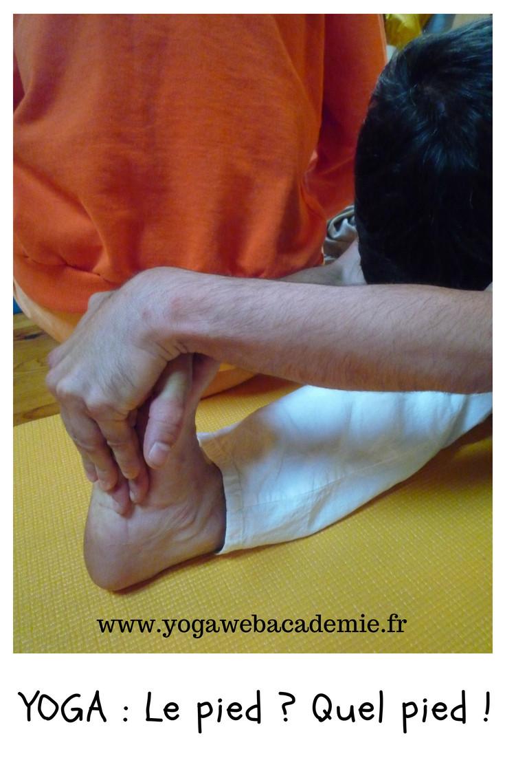 Pourquoi faut-il pratiquer le Yoga pieds nus ?