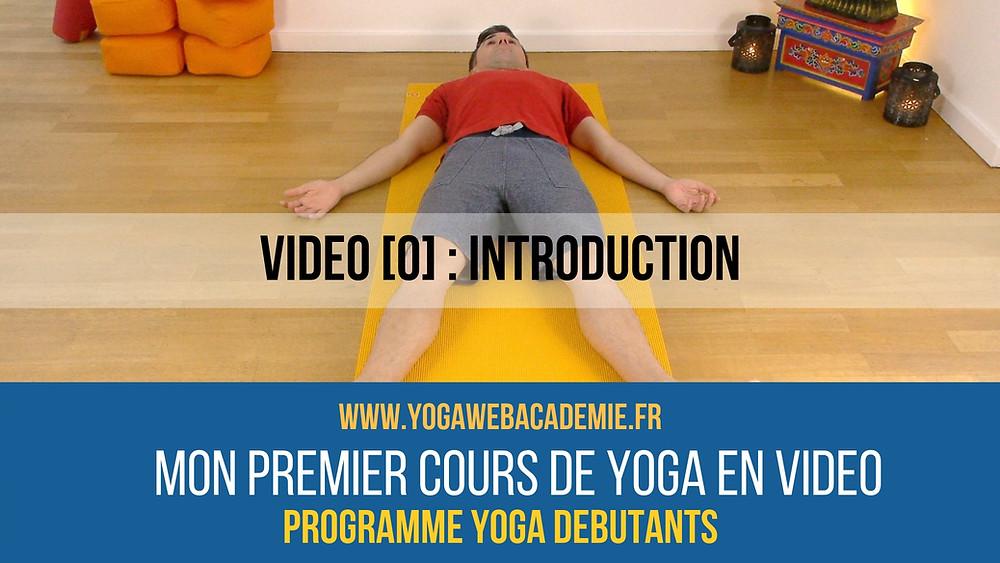 Yoga en ligne gratuit pour débutants
