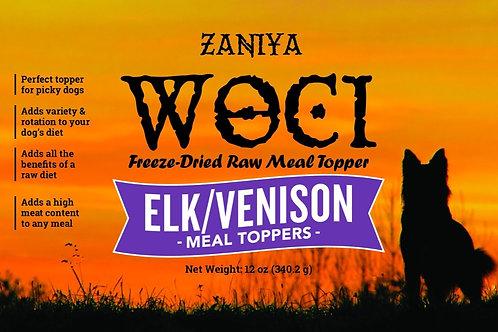 Zaniya Woci Elk/Venison Topper 12oz Jar