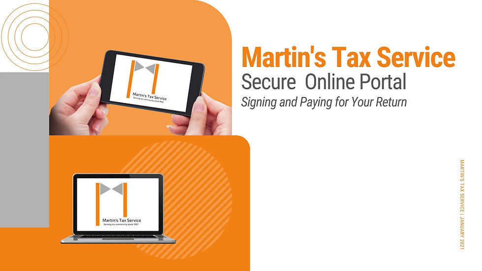 This guided tutorial will walk clients through the process of signing their tax return and completing payment within the secure portal system.
