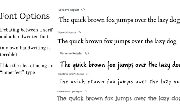 Font Exploration