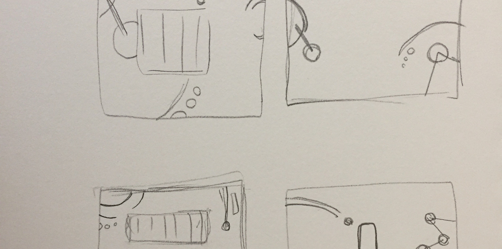 Branding Sketches and Brainstorming