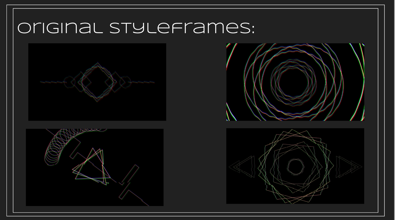 Early Styleframes