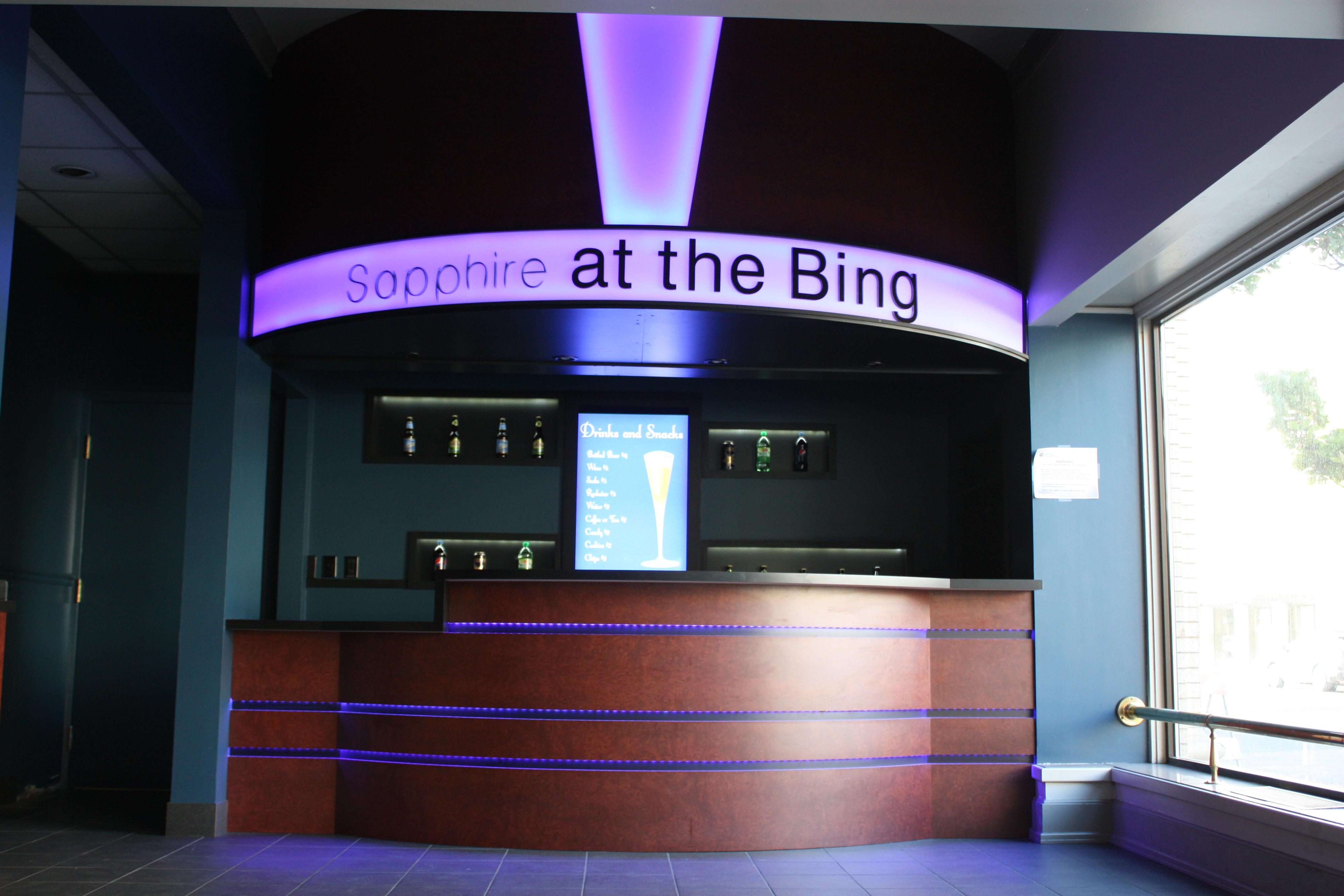 1st floor bar at the Bing
