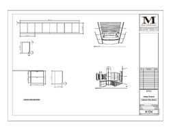 Millwork drawing for a TI