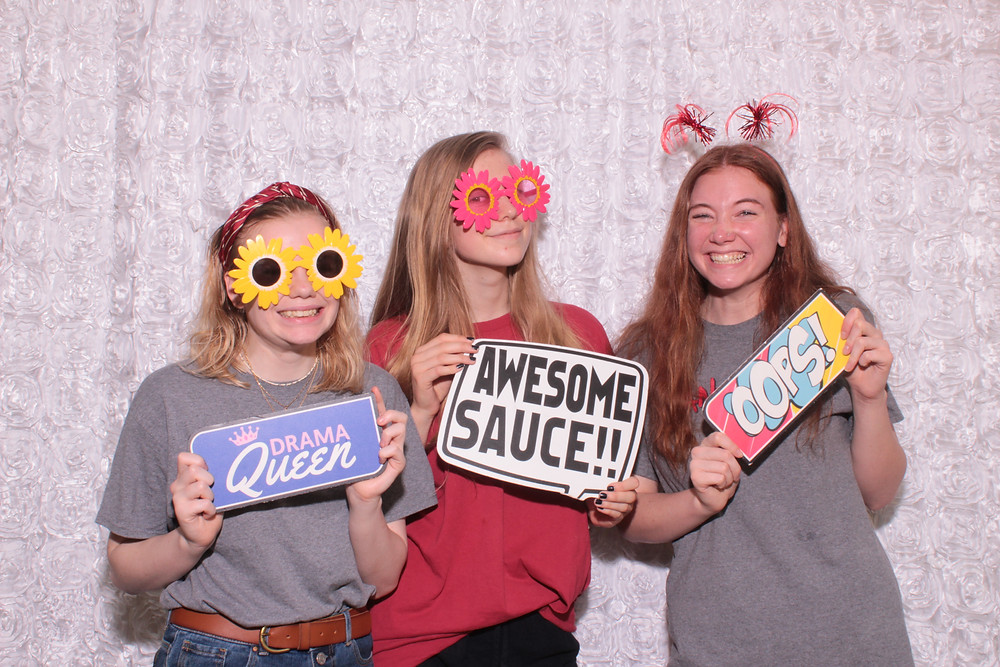 raleigh photo booth rental Sanderson High School