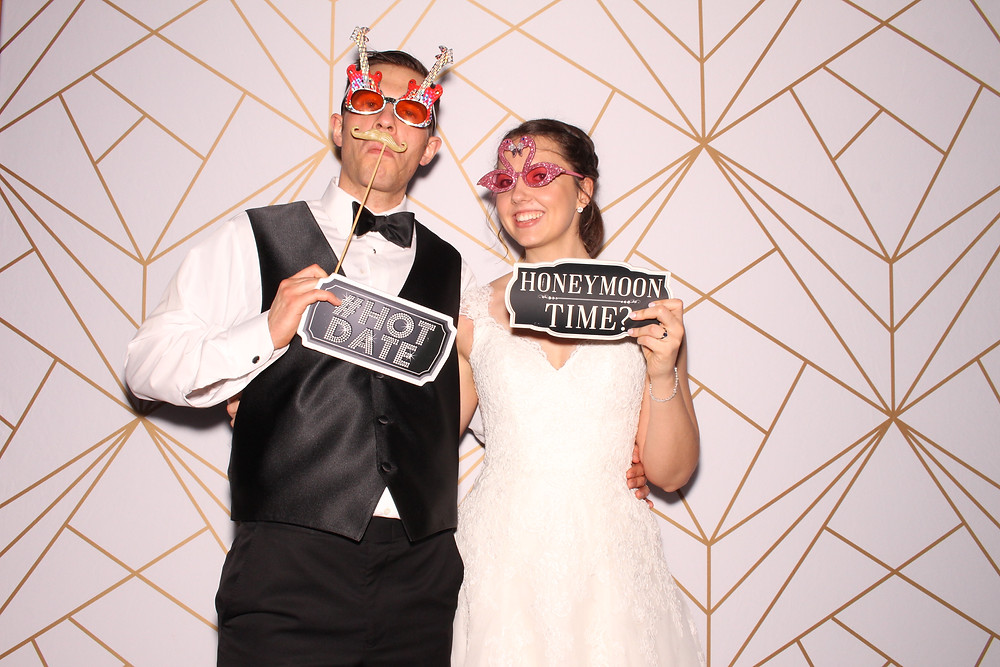 Amy and Alex photobooth rental chapel hill