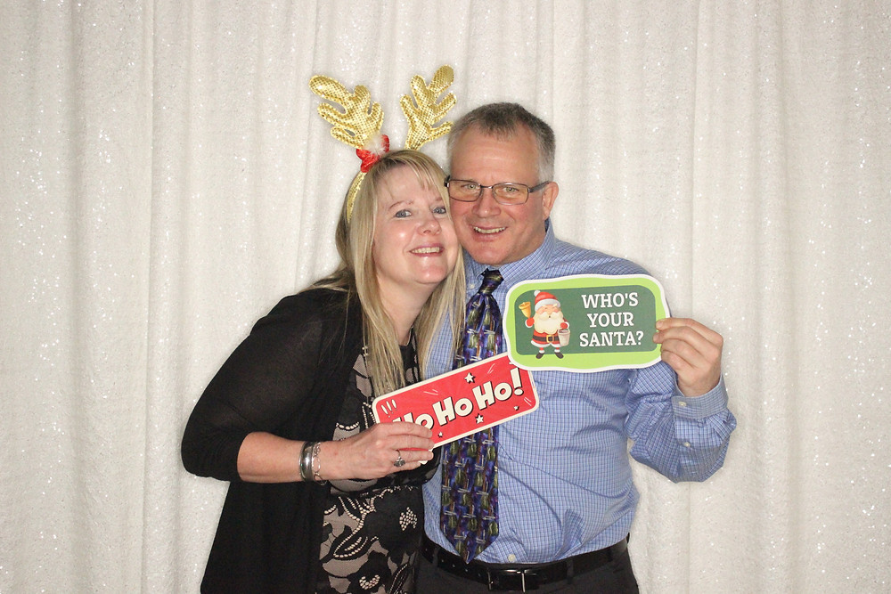 Urology Holiday Party photobooth rental in Raleigh nc
