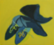 Great Boots, great painting, contemporay painting, stilllife, Shura Chernozatonskaya