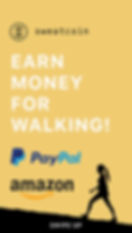 Sweatcoin Promotional Ad PayPal Payments