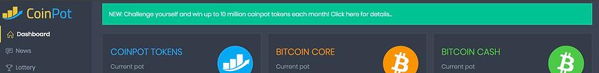 CoinPot Banner Ad